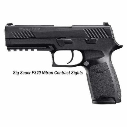 Sig Sauer P320 Nitron Contrast Sights, Sig P320 Nitron, Full-Size, 320F-9-B, 798681506019, For Sale, In Stock