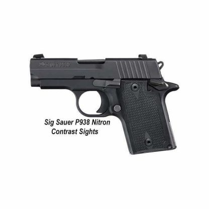 Sig Sauer P938 Nitron (Contrast Sights), 798681591619, in Stock, For Sale