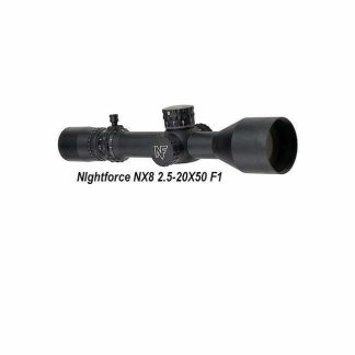 Nightforce NX8 2.5-20X50, F1, TREMOR3, C631, 847362017150, in Stock, For Sale