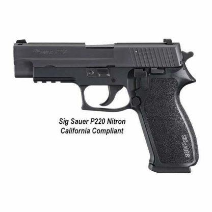 Sig Sauer P220 Nitron California Compliant, 798681437238, in Stock, For Sale