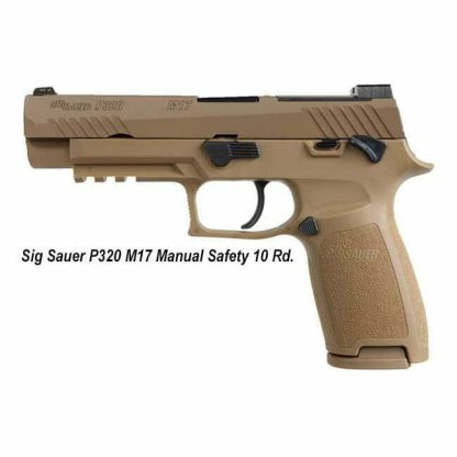 Sig Sauer P320 M17 Manual Safety 10 Rd, P320 M17, 798681607709, in Stock, For Sale