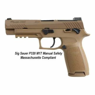 Sig Sauer P320 M17 Manual Safety Massachusetts Compliant, Sig P320 M17 MA Legal, Full-Size, 320F-9-M17-MS-MA, 798681602988, For Sale, In Stock