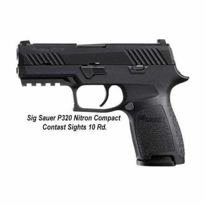 Sig Sauer P320 Nitron Compact Contrast Sights 10 Rd, 798681505982, in Stock, For Sale