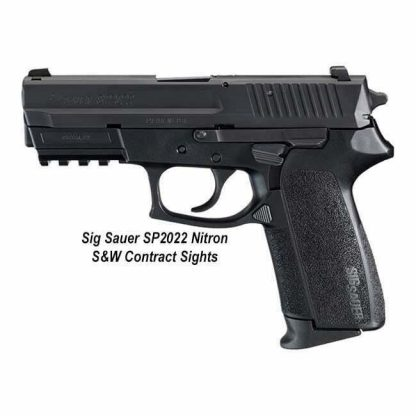 Sig Sauer SP2022 Nitron 40 S&W Contrast Sights, E2022-40-B, 798681306633, in Stock, For Sale