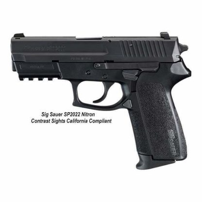 Sig Sauer SP2022 Nitron Contrast Sights California Compliant, SP2022-9-B-CA, 798681437511, in Stock, For Sale