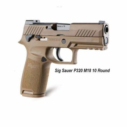 SIG Sauer P320 M18 (10 Round), 798681618040, in Stock, For Sale