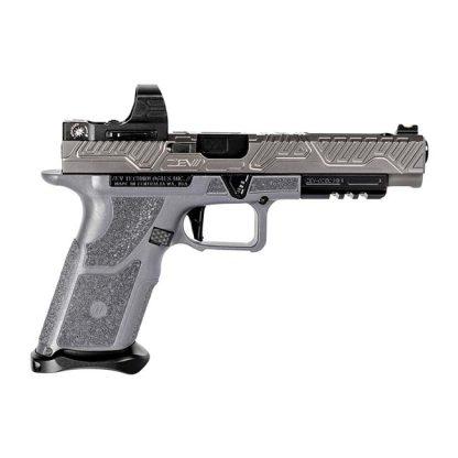 ZEV OZ9 Competition - Grey - Black Barrel (Carry Optics Ready), ZEV OZ9 Competition Pistol, Grey