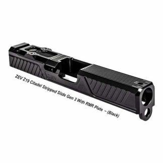 ZEV Z19 Citadel Stripped Slide Gen 3 With RMR Plate, Black, SLD-Z19-3G-CIT-RMR-DLC, 811338034595, in Stock, For Sale