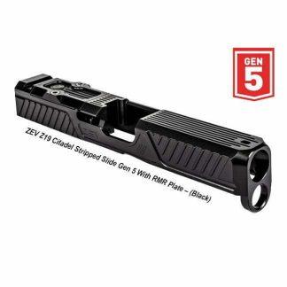 ZEV Z19 Citadel Stripped Slide Gen 5 With RMR Plate, Black, SLD-Z19-5G-CIT-RMR-DLC, 811338034632, in Stock, For Sale