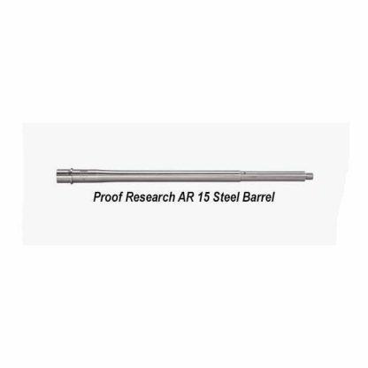 Proof Research AR 15 Steel Barrel