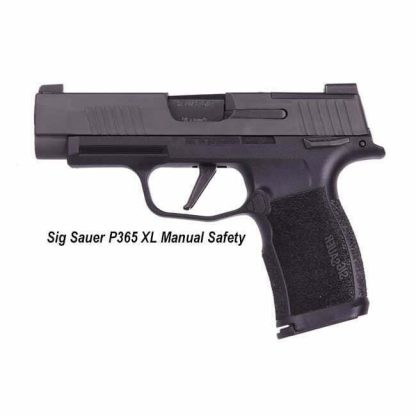 Sig Sauer P365 XL - Manual Safety, 365XL-9-BXR3-MS,798681599479, in Stock, For Sale