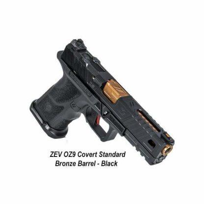 ZEV OZ9 Covert Standard - Bronze Barrel - Black, OZ9-STD-COVERT-B-BRZ, 811338035585, in Stock, For Sale