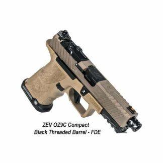 ZEV OZ9C Compact - Black Threaded Barrel - FDE, OZ9C-CPT-FDE-B-TH, 811338035554, in Stock, For Sale