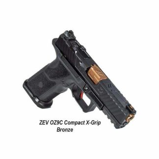 ZEV OZ9C Compact X-Grip - Bronze, OZ9C-X-CPT-B-BRZ, 811338035561, in Stock, For Sale