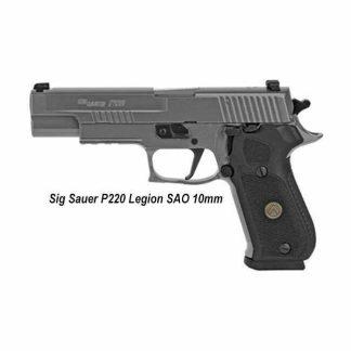 Sig Sauer P220 Legion SAO (10mm), 220R5-10-LEGION-SAO, 798681626724 , in Stock, For Sale