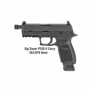 Sig Sauer P320 X-Carry Tacops, Sig P320 X-Carry Tacops, 320XCA-9-BAXR3-TACOPS-TB, 798681614493, For Sale, In Stock