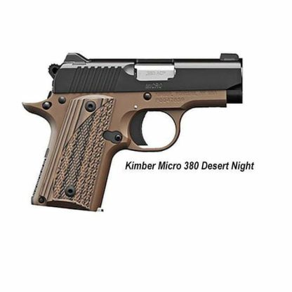 Kimber Micro 380 Desert Night, 3300208, 669278332086, in Stock, For Sale