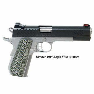 Kimber 1911 Aegis Elite Custom, 3000351, 3000350, 669278303512, 669278303505, in Stock, For Sale