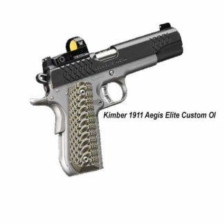 Kimber 1911 Aegis Elite Custom OI, 3000352, 3000353, 669278303529, 669278303536, in Stock, For Sale