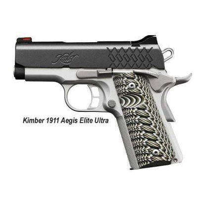 Kimber 1911 Aegis Elite Ultra, 3000356, 3000357, 669278303567, 669278303574, in Stock, For Sale