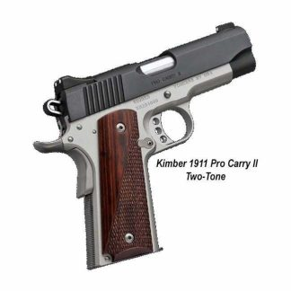 Kimber 1911 Pro Carry II (Two Tone), 3200320, 3200333, 669278323206, 669278323336, On Sale, For Sale