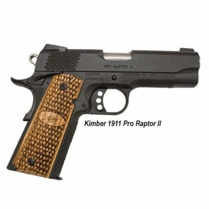 Kimber 1911 Pro Raptor II, 3200118, 669278321189, in Stock, For Sale