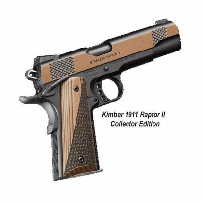 Kimber 1911 Raptor II Collector Edition, 3700600, 669278376004, in Stock, For Sale