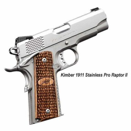 Kimber 1911 Stainless Pro Raptor II, 3200195, 3200365, 669278321950, 669278323657, in Stock, For Sale