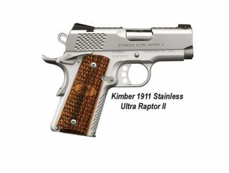 Kimber 1911 Stainless Ultra Raptor II, in Stock, For Sale