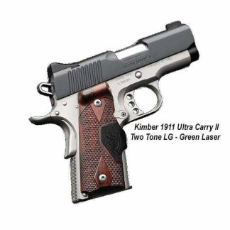 Kimber 1911 Ultra Carry II (Two Tone) (LG) (Green Laser), 3200390, 669278323909, On Sale, For Sale
