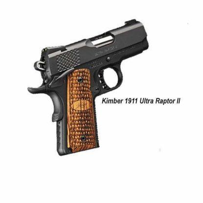 Kimber 1911 Ultra Raptor II, 3000378, 669278323787, in Stock, For Sale