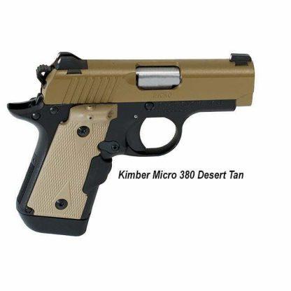 Kimber Micro 380 Desert Tan , 3300209, 669278332093, in Stock, For Sale
