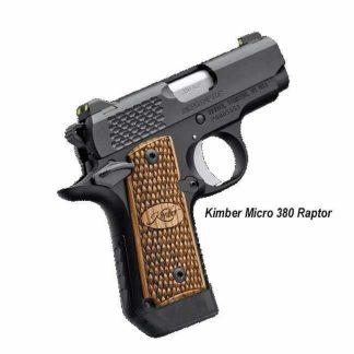 Kimber Micro 380 Raptor, 3300087, 3300084, 669278330877, 669278330846, in Stock, For Sale