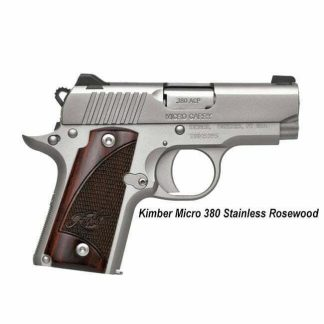 Kimber Micro 380 Stainless Rosewood, 3300207, 669278332079, in Stock, For Sale