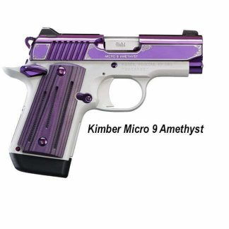 Kimber Micro 9 Amethyst, 3300214, 669278332147, in Stock, For Sale