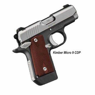 Kimber Micro 9 CDP, 3300097, 669278330976, In Stock