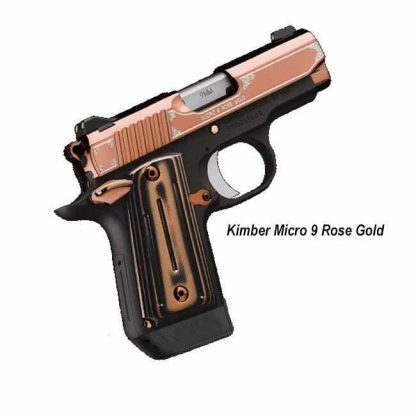 Kimber Micro 9 Rose Gold, 3300174, 669278331744, in Stock, For Sale