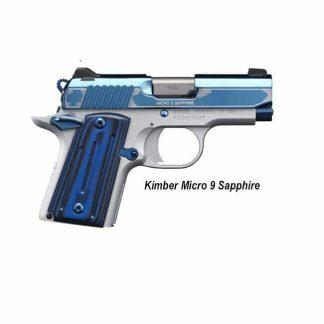 Kimber Micro 9 Sapphire, 3300111, 669278331119, For Sale