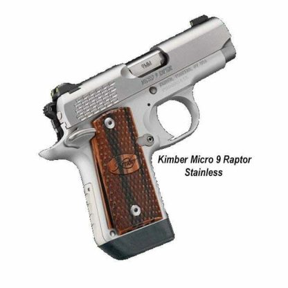 Kimber Micro 9 Raptor, Stainless, in Stock, For Sale