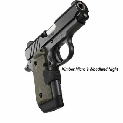 Kimber Micro 9 Woodland Night, 3300178, 669278331782, in Stock, For Sale