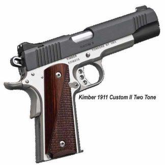 Kimber 1911 Custom II (Two Tone), 3200301, 3200334, 669278323015, 669278323343, On Sale