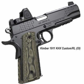 Kimber 1911 KHX Custom/RL (OI), 3000380, 3000381, 3000382, 669278303802, 669278303819, 669278303826, On Sale