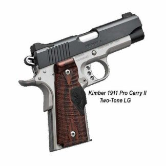 Kimber 1911 Pro Carry II (Two Tone) (LG), 3200388, 3200389, 669278323886, 669278323893, For Sale