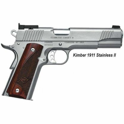 Kimber 1911 Stainless II, in Stock, For Sale