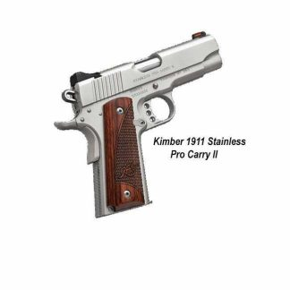 Kimber 1911 Stainless Pro Carry II, in Stock, For Sale