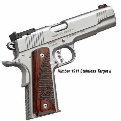 Kimber 1911 Stainless Target II, in Stock, For Sale