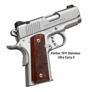 Kimber 1911 Stainless Ultra Carry II, in Stock, For Sale