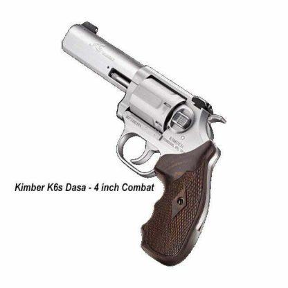 Kimber K6s Dasa 4 inch Combat, 3400031, 669278340319, in Stock, For Sale