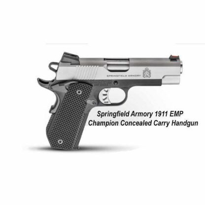 Springfield Armory 1911 EMP Champion Concealed Carry Handgun, PI9229L, in Stock, For Sale