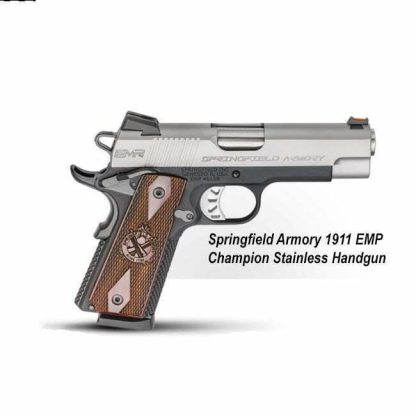 Springfield Armory 1911 EMP Champion Stainless Handgun, PI9211L, in Stock, For Sale
